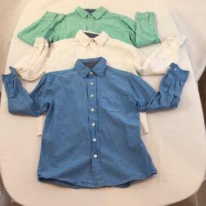 Kids combo button shirts